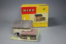 O814 Ancienne maquette WIAD  train Ho 60 boite 1063 magasin maison Geschäftshaus