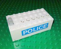 LEGO Batterie Kasten 4762 weiß Police Polizei 9 Volt Power 9V Battery Box City