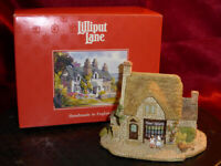 LILLIPUT LANE Penny Sweets 593 Village Shops Ornamental Model House with Box