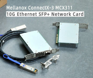 Mellanox ConnectX-3 MCX341 SFP+10Gigabit Ethernet RMDA/RoCE
