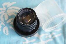 MIR-1V 37mm f2.8 lens M42 Zenit Praktica camera Flektogon Micro 4/3