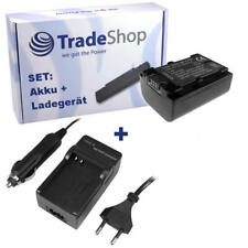Batería + CARGADOR PARA SONY np-fv30 np-fv50 np-fv70 chip
