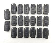 20 x Ford Fiesta, Focus, Mondeo, Etc. 3 Button Flip Key Fobs Job Lot - Tested