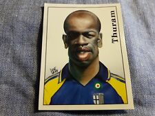 Figurina Calciatori Panini 2000 Nr°474 THURAM PARMA Caricatura sticker NEW