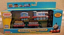 THOMAS & FRIENDS TAKE N PLAY GORDON'S SNOWY SPECIAL 4-PC ENGINE *NEW*