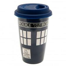 Official Licensed Product Dr Doctor Who Ceramic Travel Mug Coffee Car Gift New