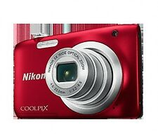 Camara Nikon Coolpix A100 Rojapalo selfie