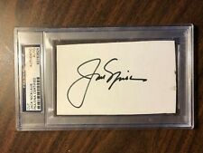 JACK NICKLAUS CUT AUTO PSA DNA CERTIFIED AUTO  6 TIME MASTERS WINNER