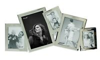 5 Picture Silver Multi Collage Aperture Photo Frame Xmas Gifts 6x4 3.5x5 3x4 2x3