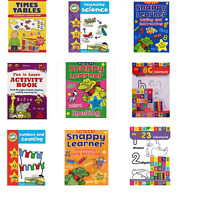 CHILDRENS LEARNING BOOKS - Kids Reading Writing Numbers Educational Activity