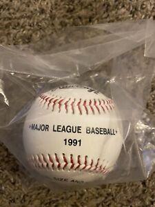 MAJOR LEAGUE BASEBALL 1991 BALL TONY THE TIGER TM KELLOG CO. NEW