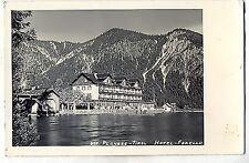 D 117-Hôtel Truite, plamsee, 1938 tourné, Carl P. Wagner, Ehrwald