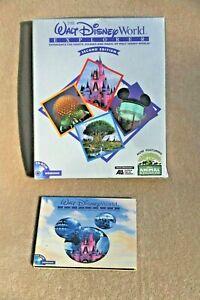 The Walt Disney World Explorer 25th Anniversary Windows CD 1996 w Original Box