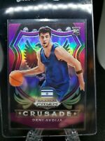 2020 Panini Prizm Draft Picks DENI AVDIJA RC 34/75 PURPLE FAST BREAK PRIZM #86🔥