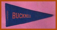 VINTAGE 1910 Bucknell University Bisons LAURENS Tobacco Silk Pennant RARE!