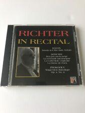 Sviatoslav Richter In Recital CD 1961 Concert Haydn Debussy Prokofiev Russian