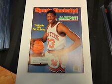 1985 S.I. May 20th Patrick Ewing Cover Jackpot The Knicks Win Patrick Ewing
