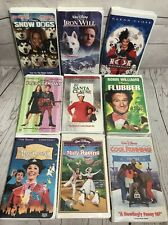 Lot of 9 Vtg. Walt Disney Home Movie VHS Tapes Mix Not Tested