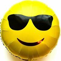 Helium Ballon Feuille Lunettes de Soleil Emoji Mariage Déco Anniversaire Cadeau