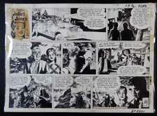 RARE JULIET JONES ORIGINAL SUNDAY COMIC STRIP 9/8/68 by STAN DRAKE (1921–1997)
