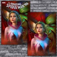🔥 AMAZING SPIDER-MAN #850 SHANNON MAER TRADE/VIRGIN VARIANT SET 49 PREORDER NM