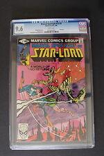MARVEL SPOTLIGHT #7 STARLORD 1980 Guardians of Galaxy Frank MILLER CGC NM+ 9.6