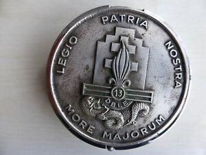 Coffret Médaille  13° DBLE  MORE MAJORUM LEGIO PATRIA NOSTRA  LEGION ETRANGERE