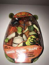 Shrek 2 Action Figure - SHREK , HOMME GUAPO - Hasbro Figure In Packaging