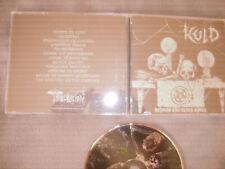 KULD Beyond The Black Spell CD 2016 Brazil Black Metal Colombia Press mystifier