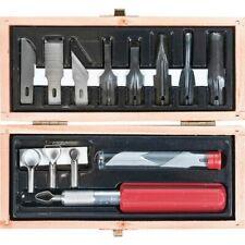 Excel Blades 44284 Woodworking K5 Duty Knife Carving Set + Blades
