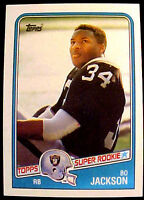 1988 Topps BO JACKSON (RC) ~ BUY MORE CARDS & SAVE $$$