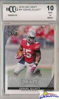 2016 Leaf Draft #31 Ezekiel Elliott ROOKIE BECKETT 10 MINT Dallas Cowboys !