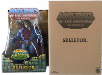 Masters of Universe Classic Intergalactic Skeletor NEW Adventures of He-Man MOTU