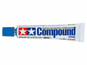 Tamiya POLISHING COMPOUND (FINE) 87069