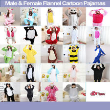 Adult Fleece Unisex Kigurumi Animal Onesie Pajamas Cosplay Costume Sleepwear