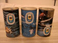 (3) Suntory Beer Pull Tab Beer Cans Bird Scenes Series Japan