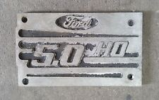 94 -95 Mustang 5.0 Plenum Plate Plaque Intake Cover V8 1994 1995