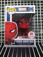 Funko Pop Spider-Armor Mkiii Marvel #670 Walgreens Exclusive