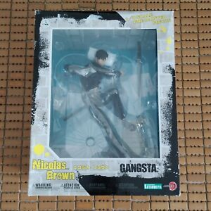 Kotobukiya ARTFX J GANGSTA Nicholas Brown Statue Figure New 1/8 Scale PVC