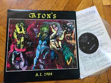 LP ITALY 1989  Aton's – A.I.2984 Label: ATS RECORDS – ATS 1 ITALIAN PROG