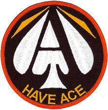 USAF U.S. AIR FORCE TEST PILOT SCHOOL CLASS 2015 B - HAVE ACE - PATCH