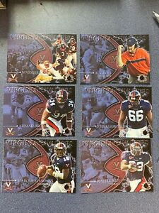 2005 University of Virginia Football SGA Ahmad Brooks, Wali Lundy, + More ~JY01