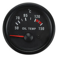 2'' 52mm Analogue Manometro Temperatura Olio Strumento Con Sensore Tuning