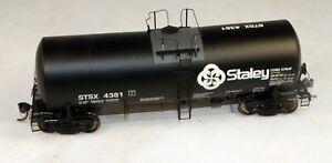 InterMountain #47804-24 19,600 Gallon Tank Car Staley #4381 1/87 HO Scale