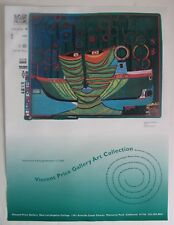 Vintage 2000 Poster Vincent Price Gallery Art Collection Modern Abstract Artist