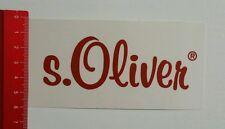 Aufkleber/Sticker: s. Oliver (240616150)
