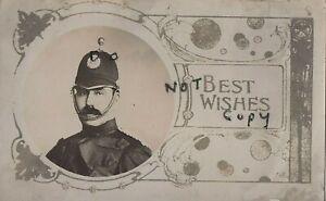 Police Officer unknown constabulary Perce D Basham ? sent to Croydon address