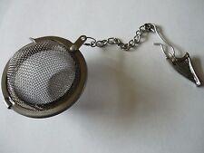 Welsh Harp Tea Ball Mesh Infuser Stainless Steel Sphere Strainer w32