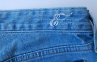 NWT Earnest Sewn Women's Ali Flare Jeans Color Blue Size 24 Made in USA