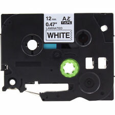 Black on White Label Tape Compatible for Brother TZe 231 P-Touch TZE531 TZE631